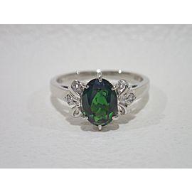 Mikimoto Platinum Tourmaline Ring Size 6