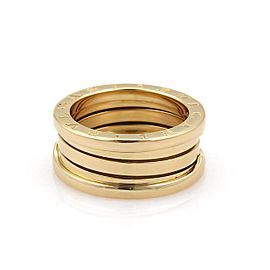 Bulgari B Zero-1 18K Yellow Gold Band Ring Size 6.25