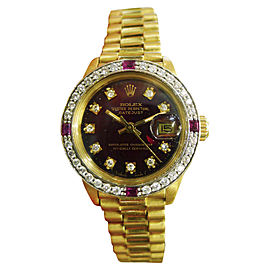 Rolex Presidential 6917 26mm Womens Watch