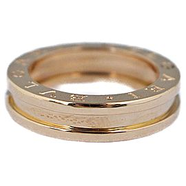 Bulgari B.Zero1 750 Rose Gold Ring Size 4.75