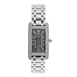 Cartier Tank Americane 2489 35mm Womens Watch