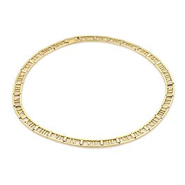 Tiffany & Co. ATLAS 18K Yellow Gold Necklace