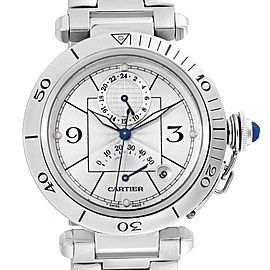 Cartier Pasha Power Reserve GMT Automatic Mens Watch W31037H3