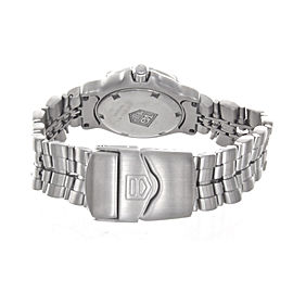 Tag Heuer WH1313 Silver Dial Professional Stainless Steel Women's Watch