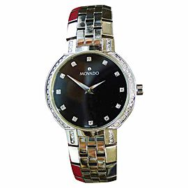 Movado Faceto 84 A1 1845 25mm Womens Watch