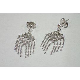 Tiffany & Co. 163292304250-E 18K White Gold Earrings