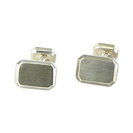 David Yurman 925 Sterling Silver Heirloom Classic Cufflinks