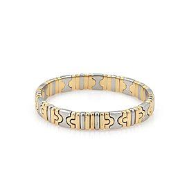 Bvlgari 18K Yellow Gold, Stainless Steel Bracelet