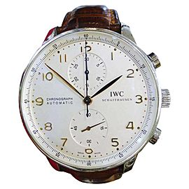 IWC Schaffhausen Portuguese IW371445 40mm Men's Watch