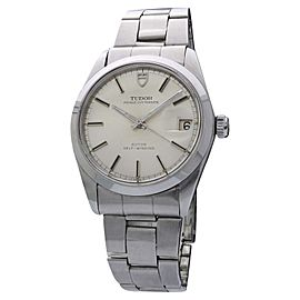 Tudor Prince Oysterdate 9050 Vintage 34mm Mens Watch