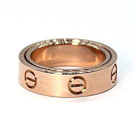 Cartier Love Secre 18K Rose Gold Ring Size 4.5