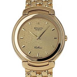 Rolex Cellini 6623 37mm Mens Watch