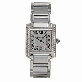 Cartier Tank Francaise 2366 28mm Womens Watch