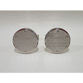 Cartier Sterling Silver Cufflinks