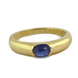 Tiffany & Co. 18K Yellow Gold Sapphire Ring Size 6