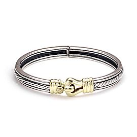 David Yurman 18K Yellow Gold, Sterling Silver Bracelet