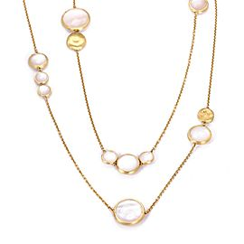 Marco Bicego 18K Yellow Gold Mother Of Pearl, Pearl Necklace
