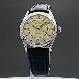 Rolex Oyster Precision 6282 1963 Vintage 34mm Mens Watch
