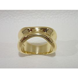 Tiffany & Co. 18K Yellow Gold Ring Size 5.5