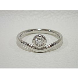 Tiffany & Co. Platinum Diamond Ring Size 7