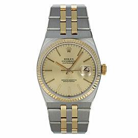 Rolex Oysterquartz Datejust 17013 36mm Mens Watch