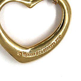 59005 Tiffany & Co. Peretti 18k Yellow Gold Double Open Heart Pendant & Chain