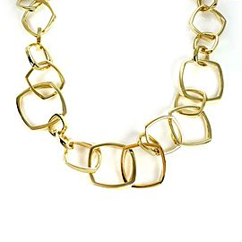 Tiffany & Co. Frank Gehry 18k Yellow Gold Torque Link Necklace