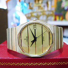 CONCORD MARINER 14k Yellow Gold Date Thin Quartz Men's Watch 77.6 grams