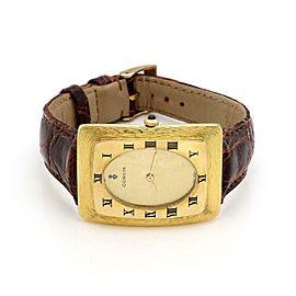 Corum 18k Yellow Gold Case 21 Jewels 3 Position Hand Wind Men's Watch
