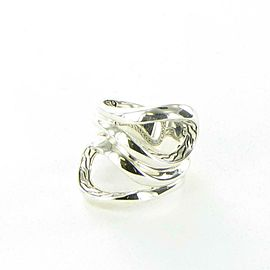 John Hardy Asli Classic Chain Ring Sterling Silver Size 7