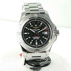 Breitling Colt Automatic 41mm Black Volcano Dial Mens Watch A1731311/BE90/182A