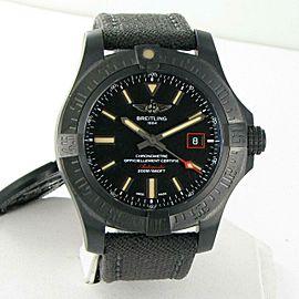 Breitling Avenger Blackbird 44 Spec Ed Black Titanium Watch V1731110/BD74-109W