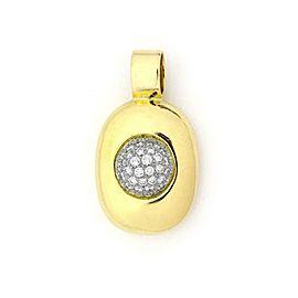 Tiffany & Co. Picasso Vintage Diamond Platinum 18k Yellow Gold Pendant