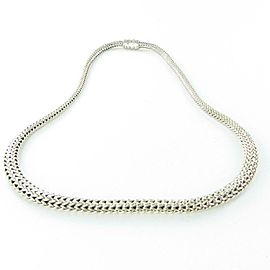 John Hardy Classic Chain Graduated Necklace 18 Inch Sterling Silver
