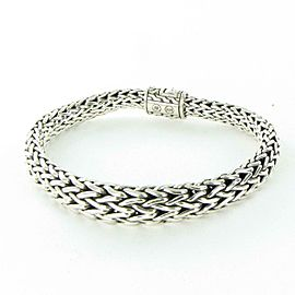 John Hardy Classic Chain 11mm Graduated Bracelet Sterling Silver
