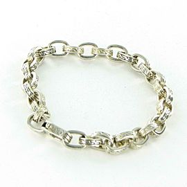 John Hardy Classic Chain Medium 7mm Oval Link Bracelet Mens BM999655XM