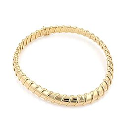 Roberto Coin Nabucco 18k Yellow Gold Wide 14.5mm Wide Flex Collar Necklace