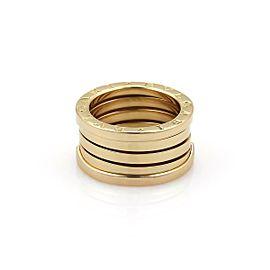Bvlgari Bulgari B Zero-1 18k Yellow Gold 11mm Band Ring Size EU 51-US 5.25
