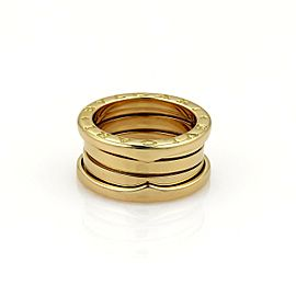 Bvlgari Bulgari B Zero-1 18k Yellow Gold 9mm Band Ring Size EU 48-US 4