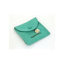 Tiffany & Co. 18k White Gold & Diamond Note Pendant & Chain w/Pouch