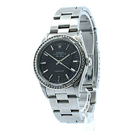 Rolex AIR KING Precision Stainless Steel Diamond 34mm Watch