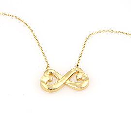 18K Yellow Gold Tiffany & Co. Paloma Picasso Loving Heart Pendant