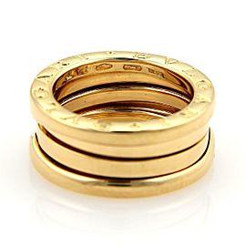 Bvlgari Bulgari B Zero-1 18k Yellow Gold 8mm Band Ring Size 48-US 4.25