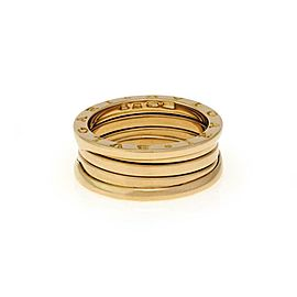 Bvlgari Bulgari B Zero-1 18k Yellow Gold 8mm Band Ring Size EU 59-US 8.75