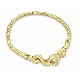 Fabian Diamond 18k Yellow Gold Fancy Collar Necklace