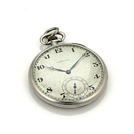 Tiffany & Co. Vintage Platinum Half Hunter 21 Jewels Pocket Watch
