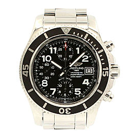 Breitling SuperOcean Chronograph Black Dial 42mm Automatic watch Ref: A13311