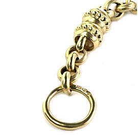 Estate Diamond & Gems Intaglio 14k YGold Convertible Bracelet Cord Necklace