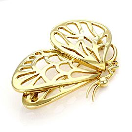 Tiffany & Co. Vintage 18k Yellow Gold Butterfly Brooch/Pin