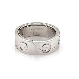 Cartier Astro Love 18k Gold 7mm Wide Puzzle Ring Pendant Size EU 52-US 6